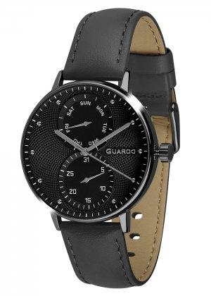Zegarek Męski Guardo Premium 012522-5 na pasku