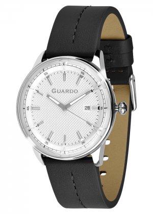 Zegarek Męski Guardo Premium 012651-1 na pasku