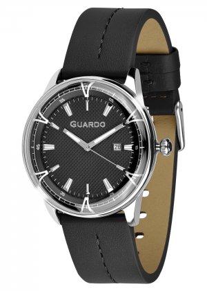 Zegarek Męski Guardo Premium 012651-2 na pasku