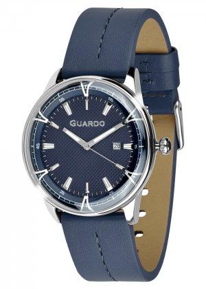 Zegarek Męski Guardo Premium 012651-3 na pasku