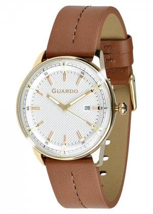 Zegarek Męski Guardo Premium 012651-5 na pasku