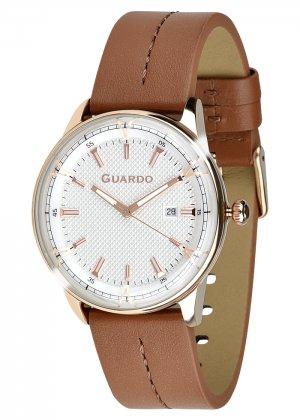 Zegarek Męski Guardo Premium 012651-6 na pasku