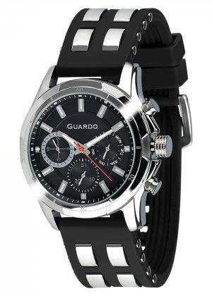 Zegarek Męski Guardo Premium B01113(1)-1 na pasku