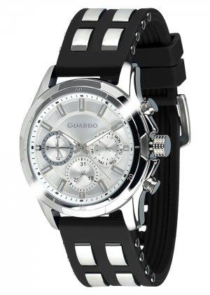 Zegarek Męski Guardo Premium B01113(1)-2 na pasku