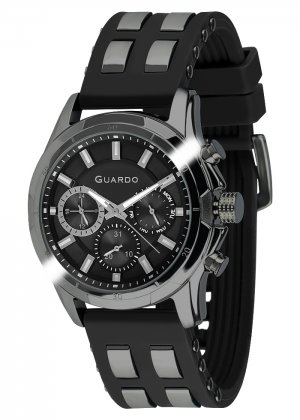 Zegarek Męski Guardo Premium B01113(1)-4 na pasku