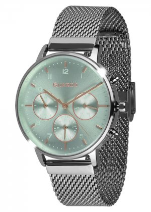 Zegarek Męski Guardo Premium B01116-5 na bransolecie mesh