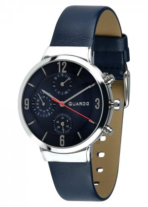 Zegarek Męski Guardo Premium B01312-3 na pasku