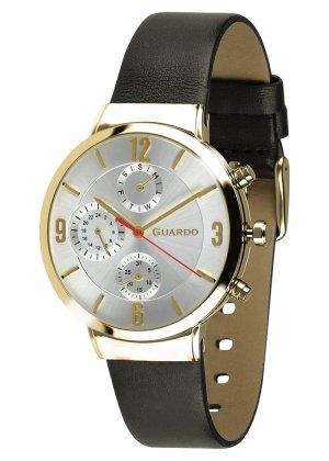 Zegarek Męski Guardo Premium B01312-4 na pasku