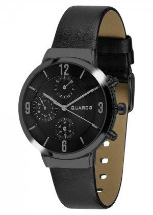 Zegarek Męski Guardo Premium B01312-5 na pasku