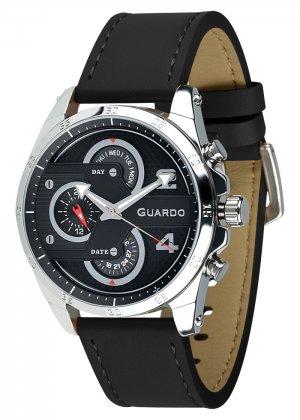 Zegarek Męski Guardo Premium B01318-1 na pasku