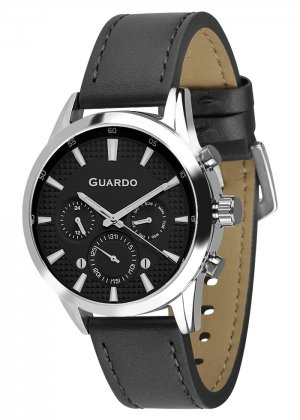 Zegarek Męski Guardo Premium B01338-1 na pasku