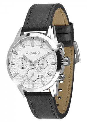 Zegarek Męski Guardo Premium B01338-2 na pasku