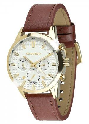 Zegarek Męski Guardo Premium B01338-4 na pasku