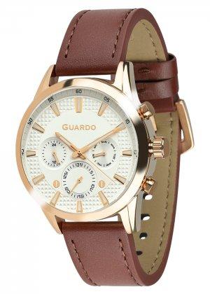 Zegarek Męski Guardo Premium B01338-5 na pasku