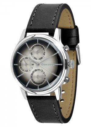 Zegarek Męski Guardo Premium B01397-1 na pasku
