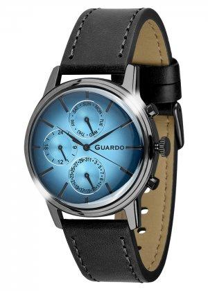 Zegarek Męski Guardo Premium B01397-5 na pasku