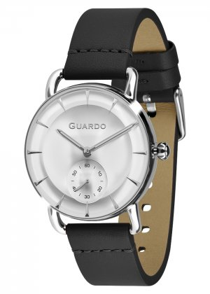 Zegarek Męski Guardo Premium B01403-2 na pasku