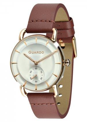 Zegarek Męski Guardo Premium B01403-5 na pasku